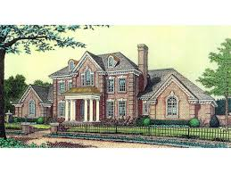 colonial luxury house plans anssonnette luxury colonial home plan d house plans and more
