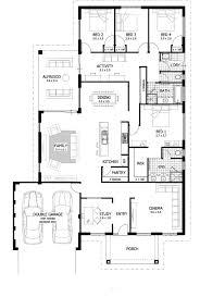 duplex floor plans single story apartments four bedroom floor plans single story four bedroom