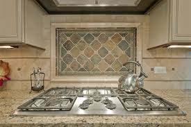Ceramic Tile Backsplash by Backsplash Ideas For Granite Countertops White Island Black