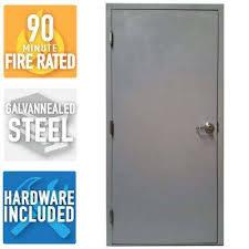 Home Depot Doors Exterior Steel Gray Primed Commercial Doors Exterior Doors The Home Depot