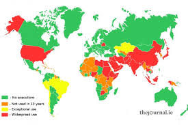 map usa penalty which countries execute and how do they do it thejournal ie