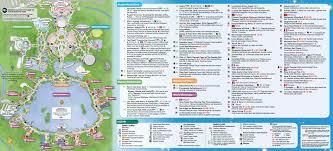 disney epcot map may 2016 walt disney park maps photo 6 of 14