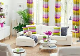 Multi Colored Curtains Small Living Room Ideas With Multi Colored Pattern And Beautiful