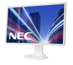 ordinateur nec bureau nec multisync e223w 22 tn blanc plat écran plat de pc 60003335