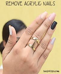 how to remove acrylic nails bestoftips