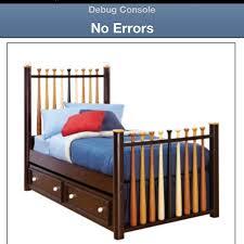 Baseball Bed Frame 9 Best Images About S Big Boy Room On Pinterest