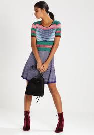 derhy xanga jumper dress marine women clothing dresses knitted