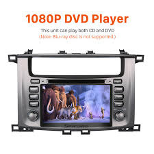 lexus is dvd player in dash 1998 2007 toyota land cruiser 100 lexus lx 470 radio