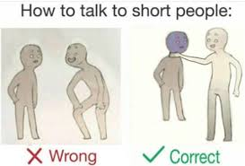 How To Meme - 21 better ways to talk to short people smosh