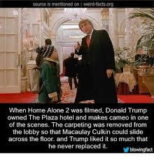 Macaulay Culkin Memes - donald trump in home alone meme whereismyvote info