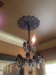 What Size Ceiling Medallion For Chandelier 293 Best Ceilings Images On Pinterest Architecture Ceiling