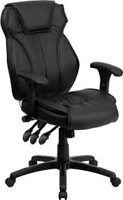 Black Leather Chairs Top 10 Most Comfortable Office Chairs Reviewed In 2017