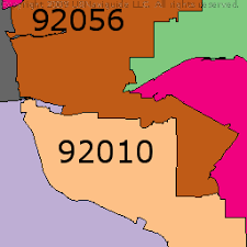 california map carlsbad carlsbad california zip code boundary map ca