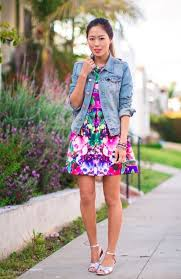 style guide how to wear denim jacket this spring fab fashion fix