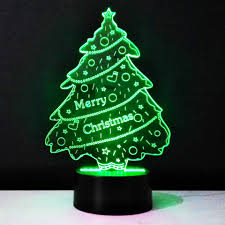 Color Changing Christmas Trees - 3d color changing christmas tree lamp u2013 my passion street