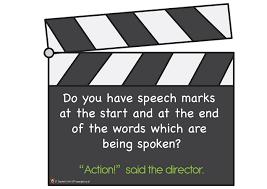 pet speech marks display free classroom display resource