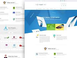 9 best free psd website templates images on pinterest corporate