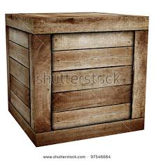 wooden box stock photo 97546664