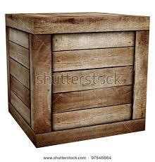 wooden box stock photo 97546664
