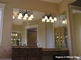 Beveled Mirror Bathroom Beveled Glass Mirror For Bathroom Base Mirror And Side