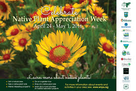 native plant list native plant appreciation week 2016
