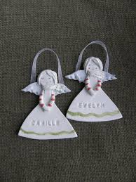 personalized angel ceramic angel with name stamped guardian angel