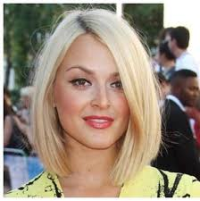 bob haircut for chubby face 15 simple haircuts for round faces