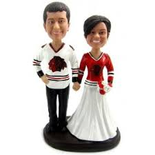 hockey cake toppers personalised and groom hockey player wedding cake toppers