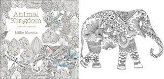 animal kingdom coloring book barnes noble doodlecraft