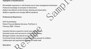 100 social worker resume cover letter sample social worker