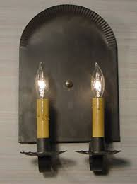 Tin Sconce Brick House Sconce