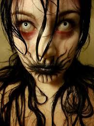 creepy makeup idea called