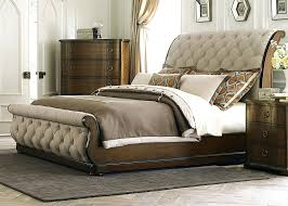 Pottery Barn Iron Bed Heavy Duty Bed Frame Upholstered Queen Sleigh Bed Slay Bed Frames