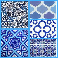 moroccan tile moroccan tile inspired table runner u2013 the crafty fox
