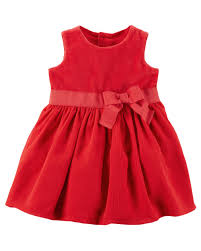 bow dress carters