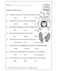 adjectives worksheets 3rd grade worksheets