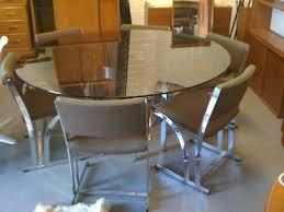 Merrow Associates EBay Watch Merrow Associates Glass And Chrome - Ebay kitchen table