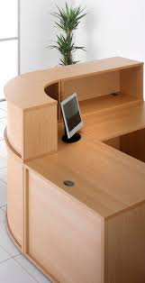 Reception Desks Uk by Budget Reception Desk Components Beech Specialist Furniture