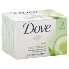 Dove Clean Comfort Bar Soap Dove Bar Soap Cool 4 Oz 2 Pack
