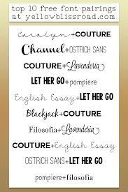 best 25 font pairings ideas on pinterest font combinations