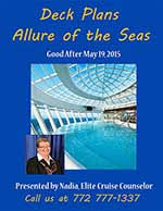 Allure Of The Seas Floor Plan Allure Of The Seas Deck Plans 2015 Pdf Cruise Expert
