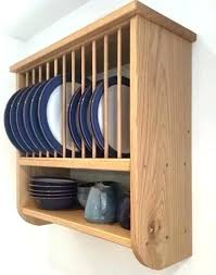 plate rack cabinet insert wall mounted wooden plate rack large size of kitchen plate rack wall