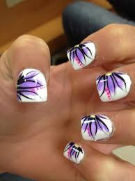 16 simple flower nail designs u2013 new spring u0026 summer trend for home