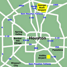 Map Houston Houston Airport Map Indiana Map