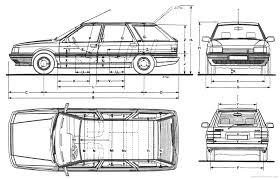 renault 21 the blueprints com blueprints u003e cars u003e renault u003e renault 21 nevada