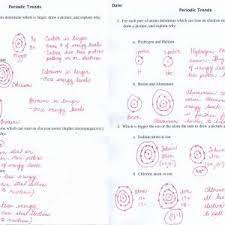 periodic table activity answers periodic table activity trends best of periodic table worksheets doc