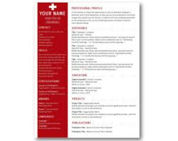 Nursing Resume Templates For Microsoft Word Nursing Resume Etsy