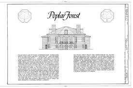 Octagon Home Plans Poplar Forest Thomas Jefferson Home Colonial Houses Colonial