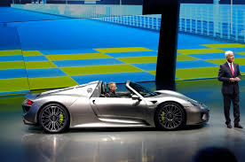 porsche 918 racing 2015 porsche 918 spyder production details
