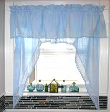 Gingham Curtains Blue Blue Kitchen Curtains U2013 Teawing Co